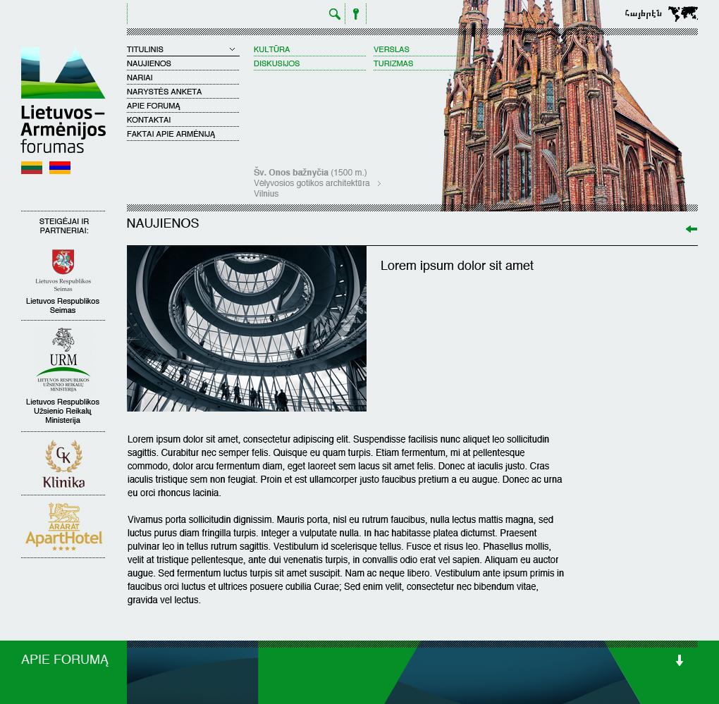 Website to International Forum