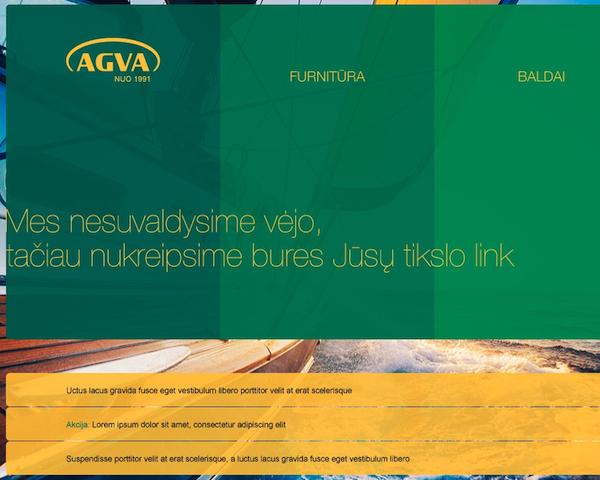 Website development AGVA